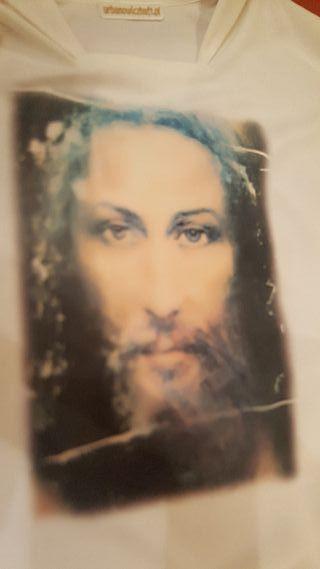 casulla serigrafiada rostro Sabana Santa