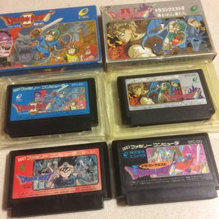 Famicom Dragon Quest Saga