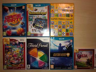 Juegos Wii u Wii y 3DS