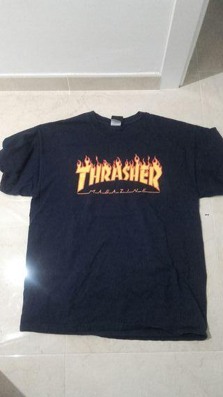 Camiseta Trasher skate old school