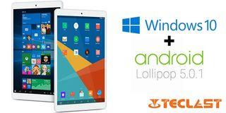 "Tablet Teclast Ultrapad X80 Pro.8"".Nuevo.Dual SO"