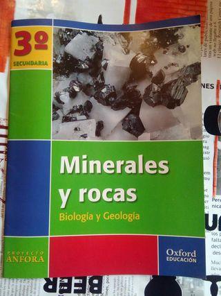 Minerales y rocas Biología y Geología 3° Secundari