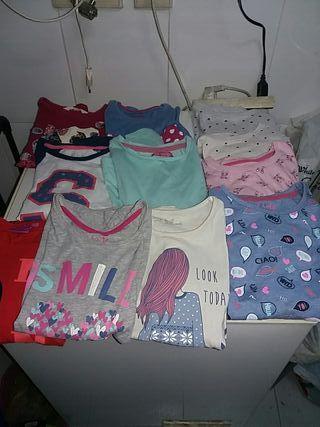 Lote camisetas niña T- 7.8 y regalos!!