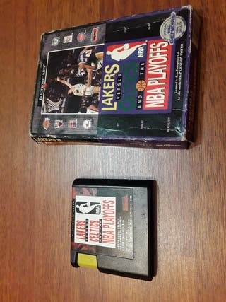 Lakers versus celtics mega drive