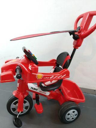 Triciclo Ferrari F1 Feber evolutivo