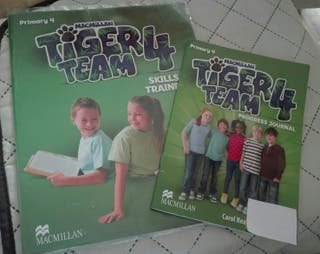 Libros Tiger Team 4 Inglés primaria Macmillan