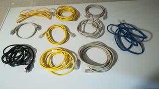 Lote cables de red