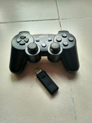 mando joystick inalámbrico