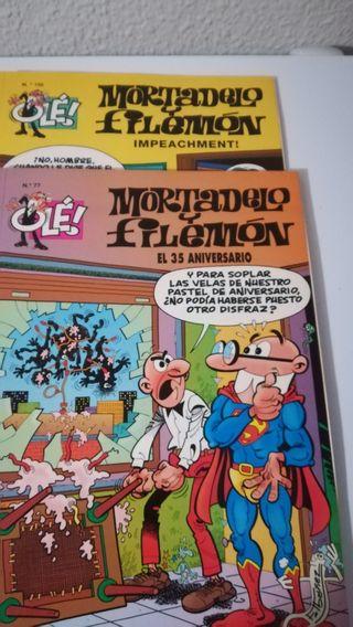 Libros Mortadelo y Filemón