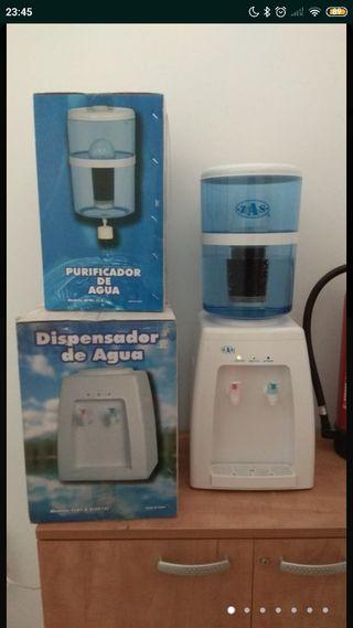 Dispensador y purificador de agua
