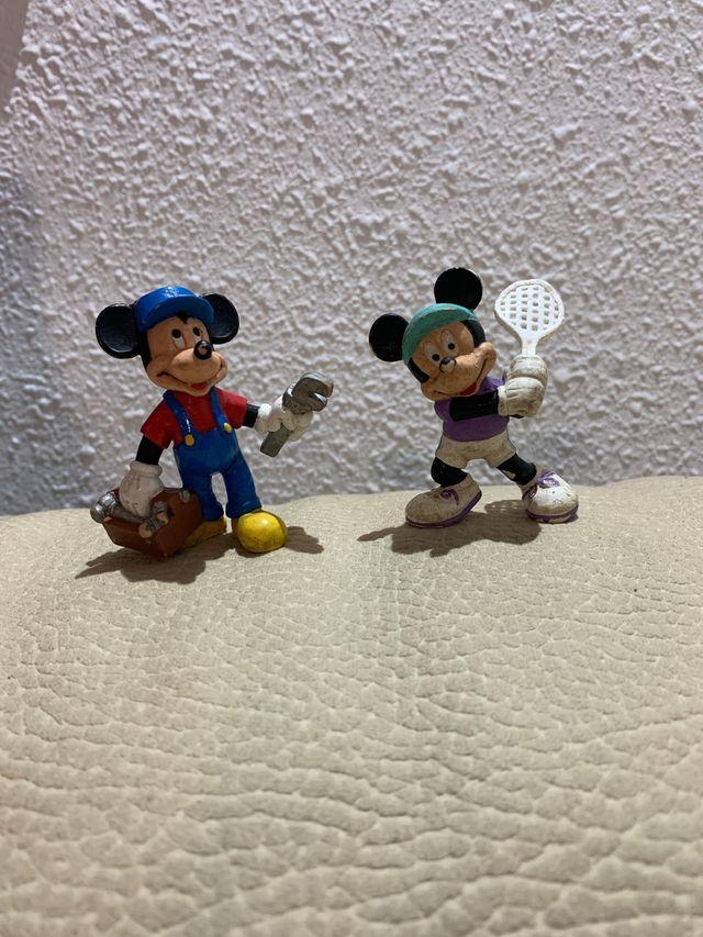 Lote de figuras Disney Mickey Mouse muy antiguas