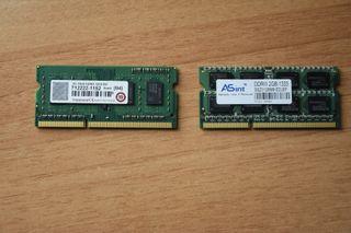 Memoria Ram SODIMM 2x2 GB DDR3