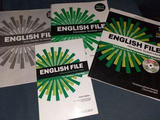 libros english file B1/B1+ de Oxford