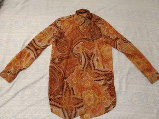 camisa blusa dama talla S