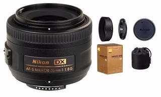 Objetivo Nikon AF-S DX NIKKOR 35mm f/1.8G