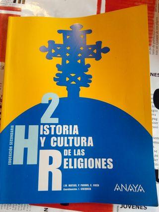 Historia y Cultura de las Religiónes 2° Secundaria
