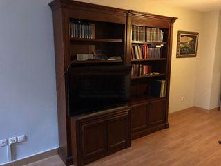 Mueble librería y T.V.