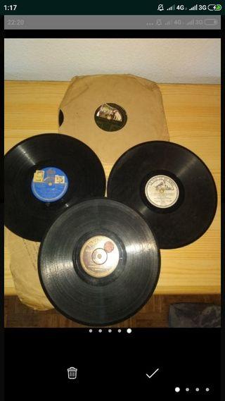Vinilos para gramófono año 1930