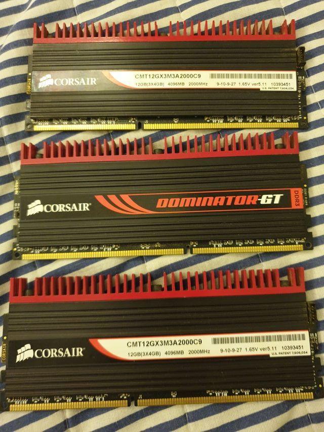 Memoria RAM Corsair 12gb