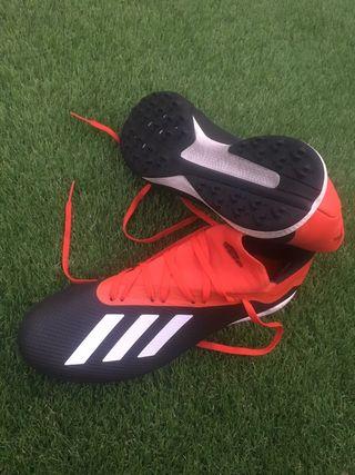 Botas de fútbol Adidas x 18.3 multitacos