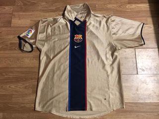 Camiseta Barça 2001-2002