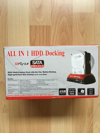 HDD XD CF/MD TF MS SD USB Docking Station