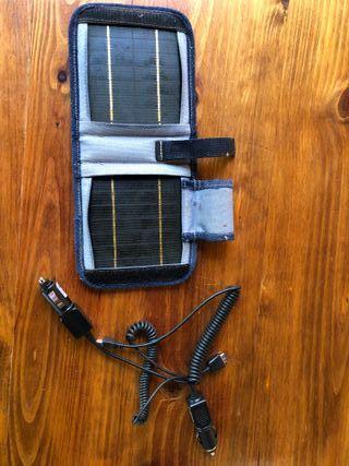 Cargador solar compatible todas marcas móvil