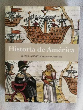 Libro. Historia de América. Juan Bosco Amores