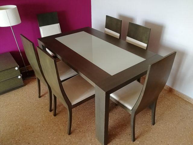 Mesa extensible para salón comedor de segunda mano por 200 ...