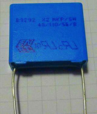 Condensador B3292 X2 MKP/SH 40/110/56/B