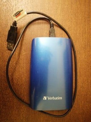 Disco duro externo Verbatim 320Gb