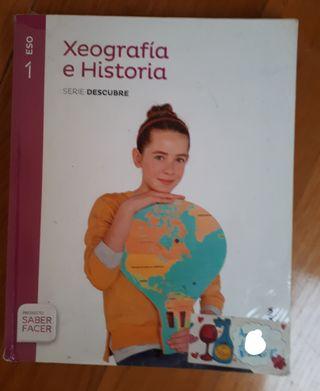 Libro de historia/geografía- 1 ESO