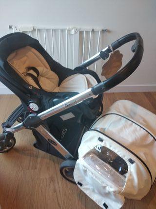 Conjunto cochecito bebé, silla paseo, maxicosi