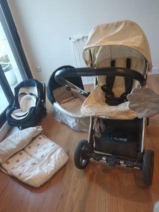 Capazo bebé, silla paseo, maxicosi