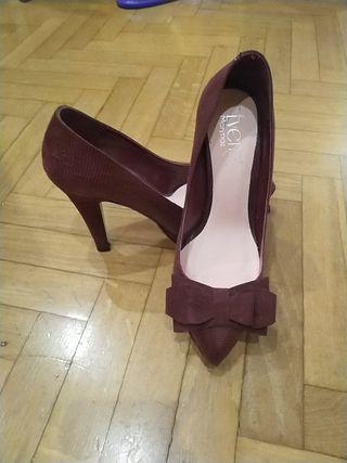 zapatos tacón fiesta talla 36