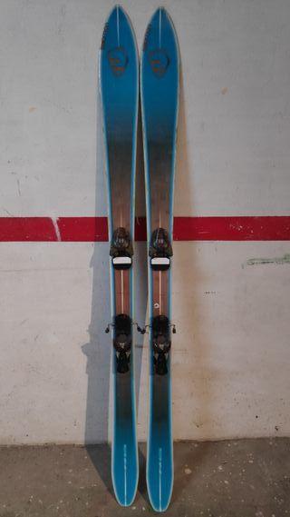 Esquís Salomon BBR 186
