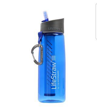 Cantimplora / botella de agua con filtro