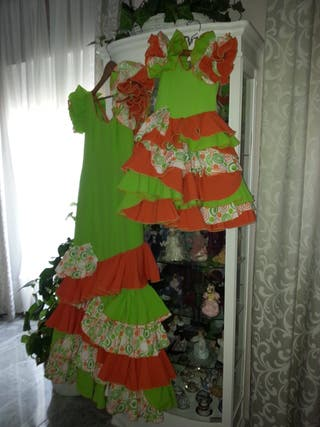 Vestido flamenca madre e hija