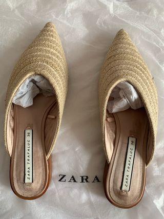 Sandalias palas Zara