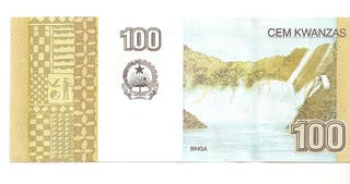 ANGOLA BILLETE 100 KWANZAS 2012 SC