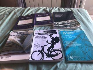 libros acceso a la universidad de la uned