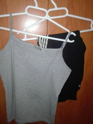 pack camiseta tirantes + mallas Gym