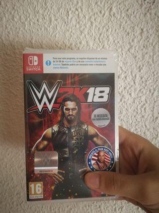 WWE 2K18 nuevo para switch
