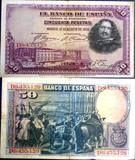 España, 50 pesestas 1928. Circulado.