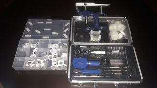 herramientas para reloj