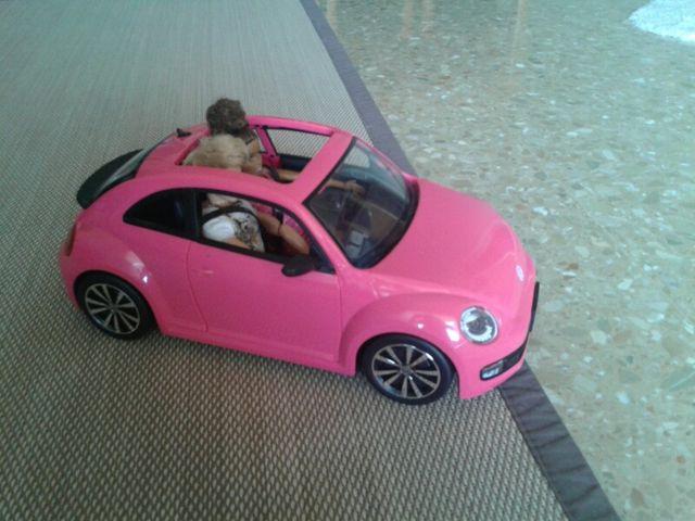 Coche de Barbie