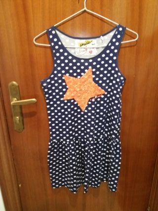 vestido DESIGUAL 13 -14años o menos