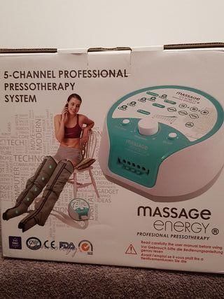 Sistema profesional de Presoterapia Massage Energy