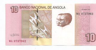 ANGOLA BILLETE 10 KWANZAS 2012 SC