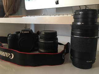 Cámara Canon EOS 1000 Reflex Digital